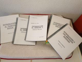Libros y apuntes Trabajo social