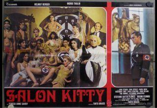 Póster original de película salon kitty 1975
