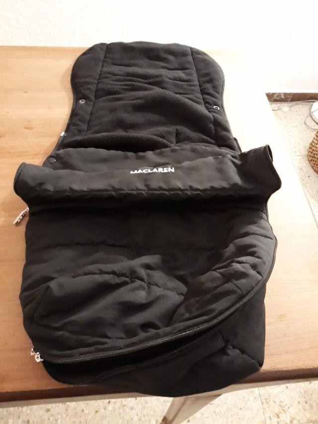 Saco Universal Packaway Negro para Mac Laren