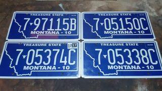 Montana, Matriculas Americanas