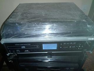 TOCADISCOS USB RADIO CD