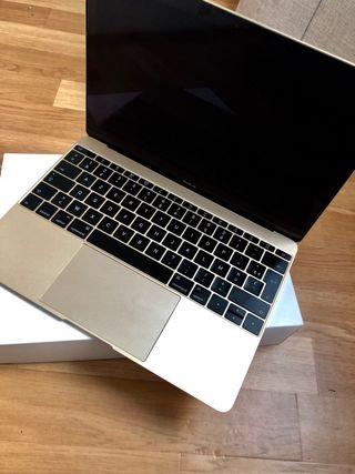 """Macbook 12"""" Or 256 go"""