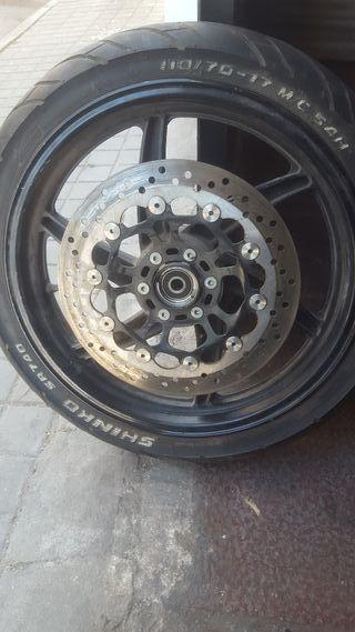 llanta completa Hyosung 125 cc y 250