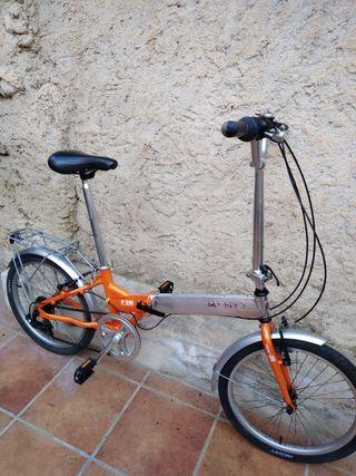 plegable monty bicicleta