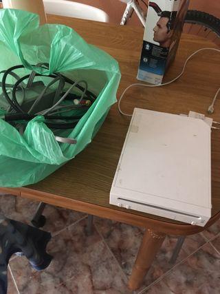 Wii abierta sin sensor ni mandos