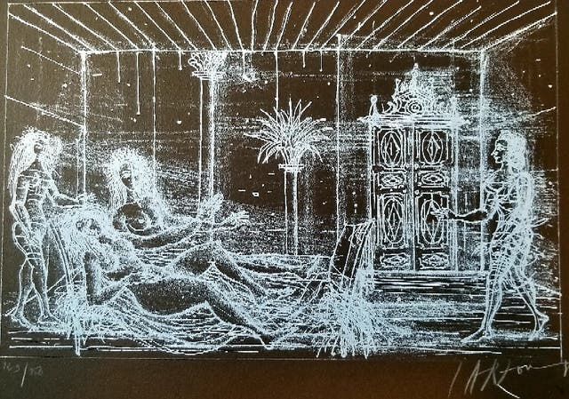 Carzou Lithographie originale