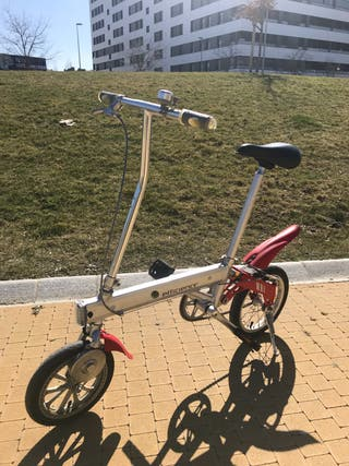 Bicicleta electrica pequeña plegable Pamplona