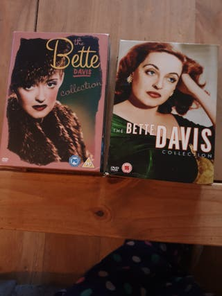 2 Bette Davis box sets.