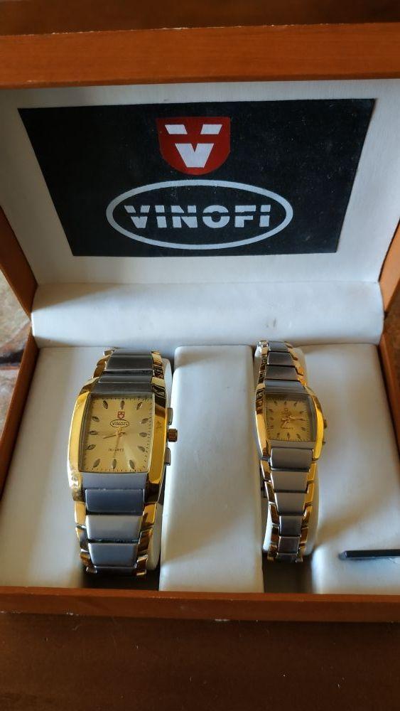 Reloj de hombre y mujer