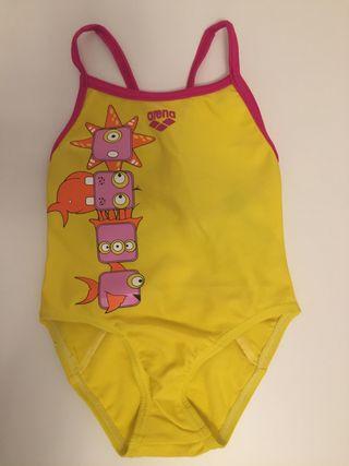 Bañador natación bebé niña ARENA Talla 1-2