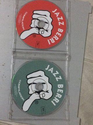 Doble cd jazz berri compilation