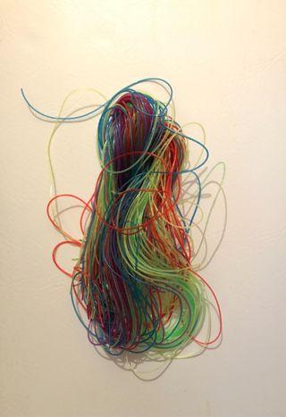 Kids Glitter Art String