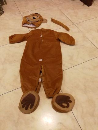 disfraz bebe mono