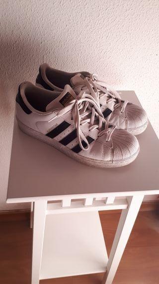 Adidas Canaria Zapatillas Mano En Palmas De Gran Segunda Las wn08mN