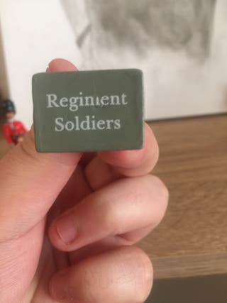 Regiment soldiers limited edition UK