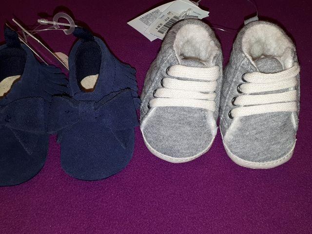 1ba89c043b7 Zapatos bebé 0 3meses de segunda mano por 7 € en Madrid en WALLAPOP