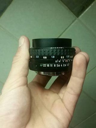 pentax 50mm F/1.7 Manual