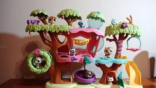 Casa del árbol de los PetShop