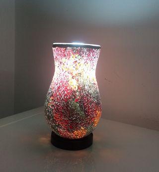 Lámpara de diseño estilo mosaico
