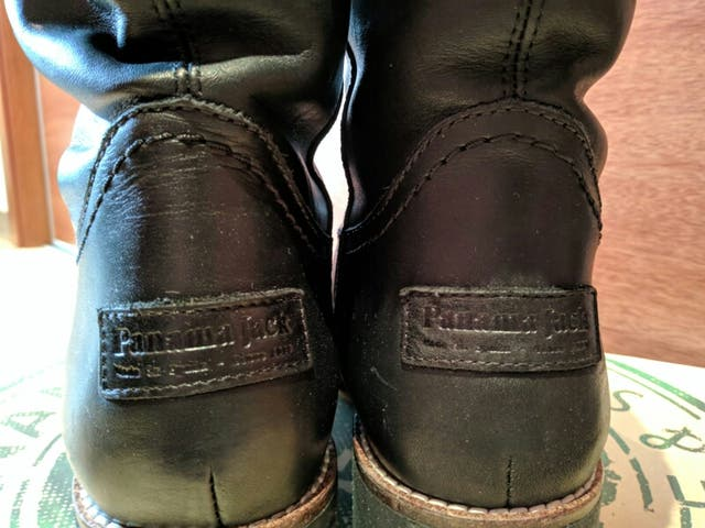 d6e585db704 Botas Panama Jack Tania botines piel negro 39 de segunda mano por ...