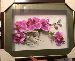 Cuadro orquideas