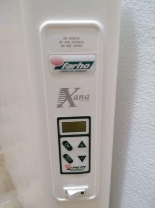 Radiador calefactor de 5 elementos