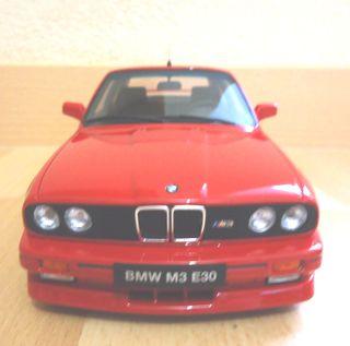 MAQUETA BMW M3 E30 OTTO 1:18