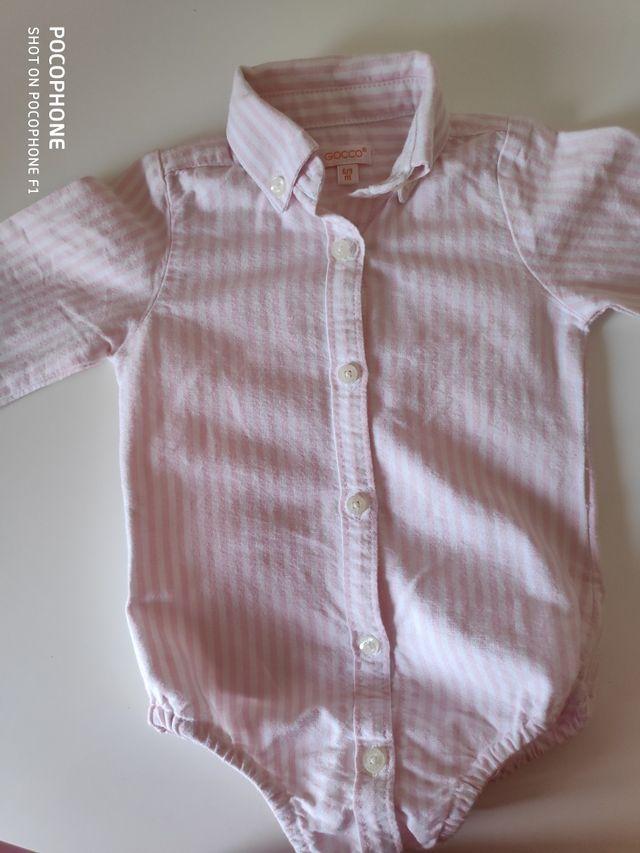 998229d7d Camisa-body bebé GOCCO de segunda mano por 7 € en Toledo en WALLAPOP