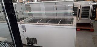 mesa de preparación refrigerada
