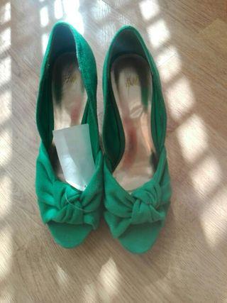 zapatos mujer H&M talla 36. A estrenar
