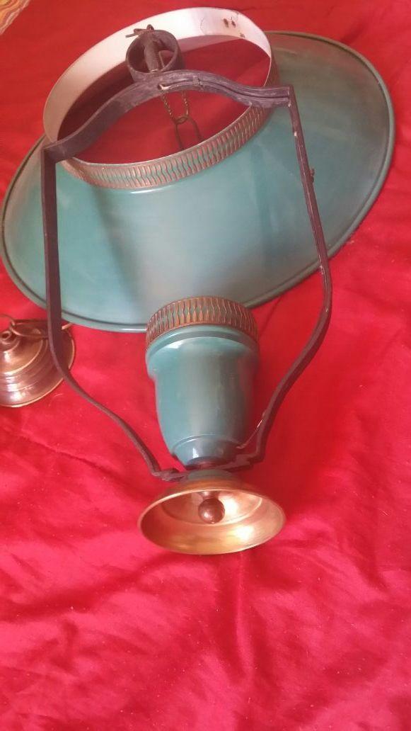 LAMPARA retro/vintage de techo. Marinera/nàutica.