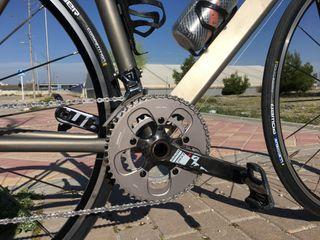 Bicicleta titanio Amaro Loren