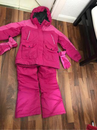 Abrigo Pantalon Y Guantes Ski