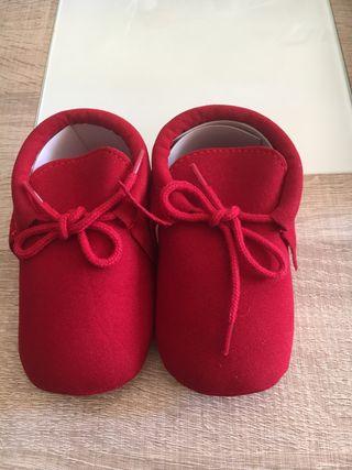 Zapatos bebé.