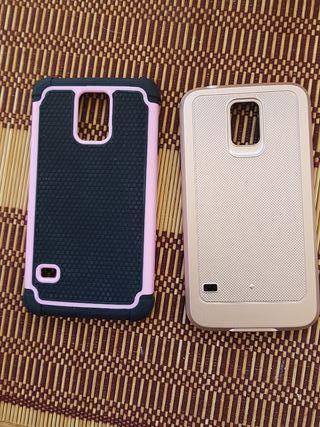 2 fundas Samsung Galaxy S5