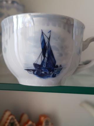 JUEGO DE CAFÉ DE PORCELANA ALEMANA