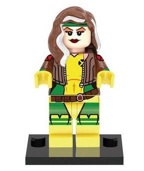 Rougue Amarilla X-Men minifigures lego compatible