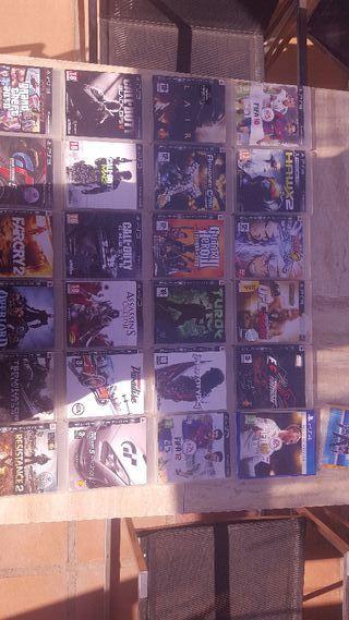 juegos PS3 y FIFA 18 PS4