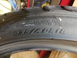 rueda good year 235/40 r18 95Y