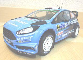 MAQUETA FORD FIESTA RS WRC 1:18