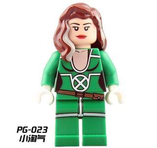 Rougue Verde X-Men minifigures lego compatible