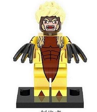 Sobretooth X-Men minifigures lego compatible
