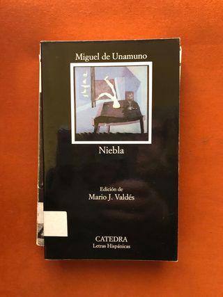 """LIBRO """"NIEBLA"""", DE MIGUEL DE UNAMUNO"""