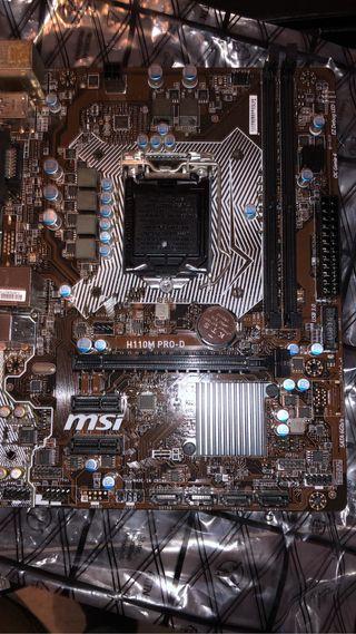 Placa base MSI H110M PRO-D