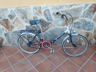 antigua bicicleta GAC plegable