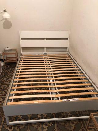 Estructura cama matrimonio + dos somier