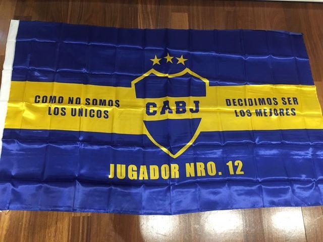 Banderas Boca Juniors Oficiales la 12 de segunda mano por 30