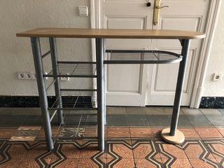 Barra mesa cocina