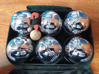 bolas petanca acero (6 unidades)