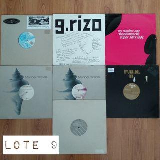 Lote de 7 discos de Breaks, Electro, Experimental